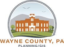 Wayne County, PA Planning/GIS Logo